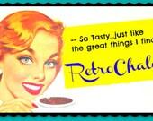 Retro Avatars Logos Graphics For Advertising Blogs Etsy Shops Not Banners