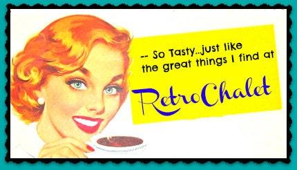 Retro Chalet has Vintage Melmac