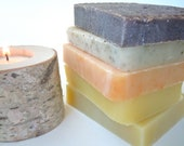 Soap subscription 12 months, handmade soap, cold-process, vegan, organic, soap of the month