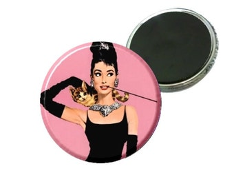 "Magnet - Audrey Hepburn Breakfast at Tiffanys Image 2.25"""