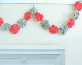 Rasperry Pink Garland - 6 Ft of Fabric Festival Bunting