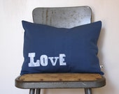 Love - 12 x 16 Removable Pillow Cover with Insert