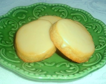 2 Dozen Maple Shortbread Cookies w/ Real Maple Syrup Glaze