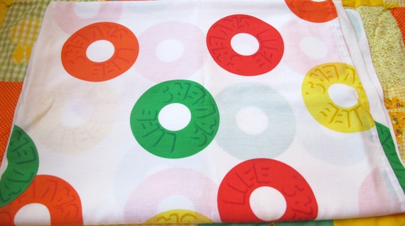 RESERVED Lifesaver Candy Twin Flat Sheet