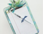 Mini-Clipboard memo set (Blue Green)