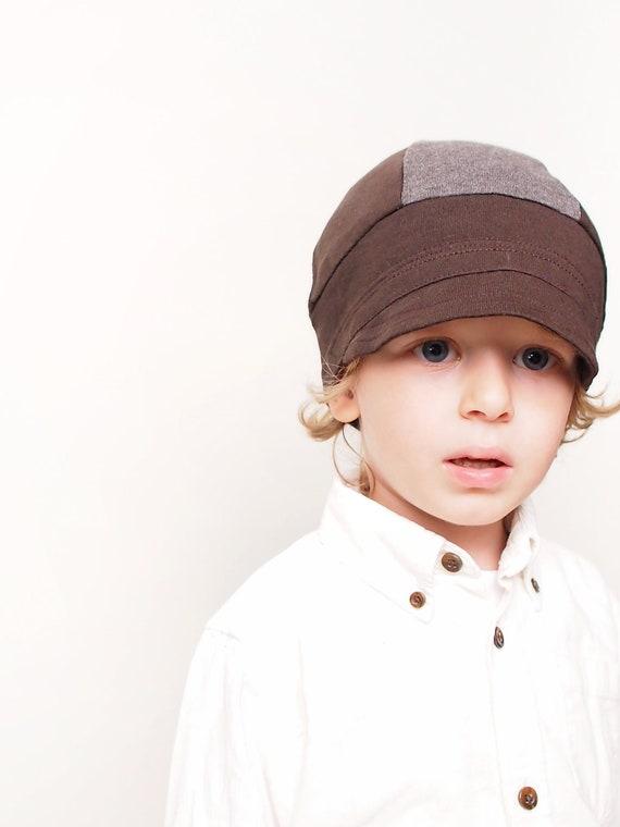 Bike style hat. Children accessories. Modern kids bicycle hat