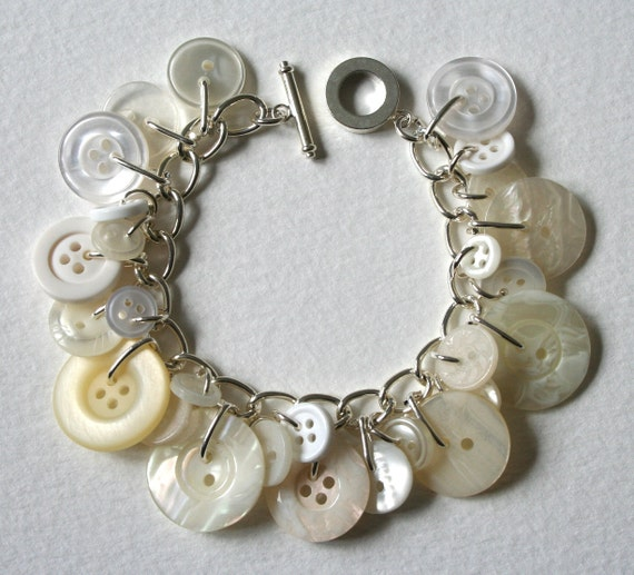 Button Bracelet East End of London Pearly Queen