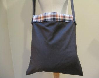 Upcycled Messenger Bag