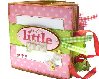 Daddy's Little Girl Scrapbook - Paper Bag Album