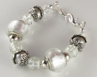 Medical Bracelet attachment only SILVER FOX for Your ID tag replacement bracelet