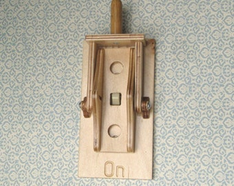 Switch Plate Cover - Mechanical Knife Switch Plate Cover