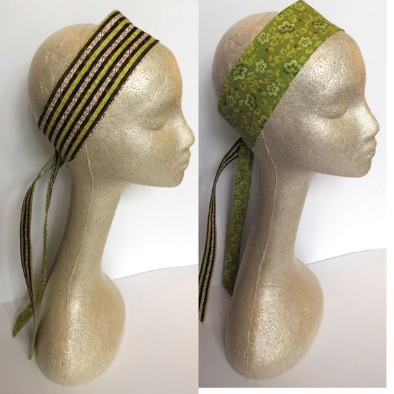 Chocolate Lime Reversible Headband