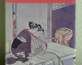 Vintage Japanese Korean Art Book Illustrated HC DJ 6589 Free Shipping