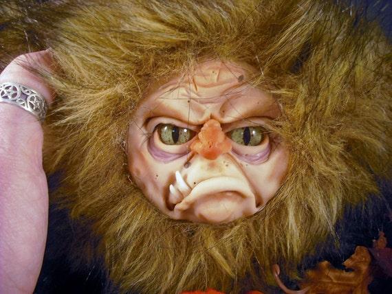 OOaK Monstar Plushie Autumn Thing Monster Doll