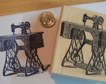 Sewing machine rubber stamp WM P1