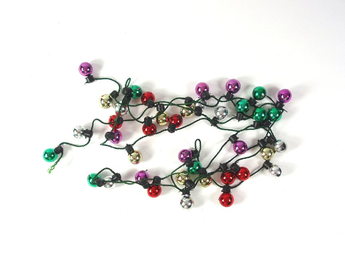 miniature christmas tree light bulb garland by beadsbymavis. Black Bedroom Furniture Sets. Home Design Ideas