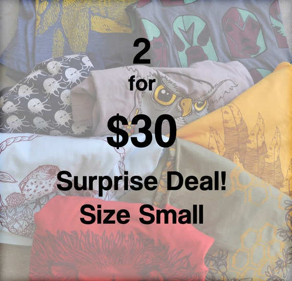 SURPRISE DEAL 2 for 30 Size Mens SMALL