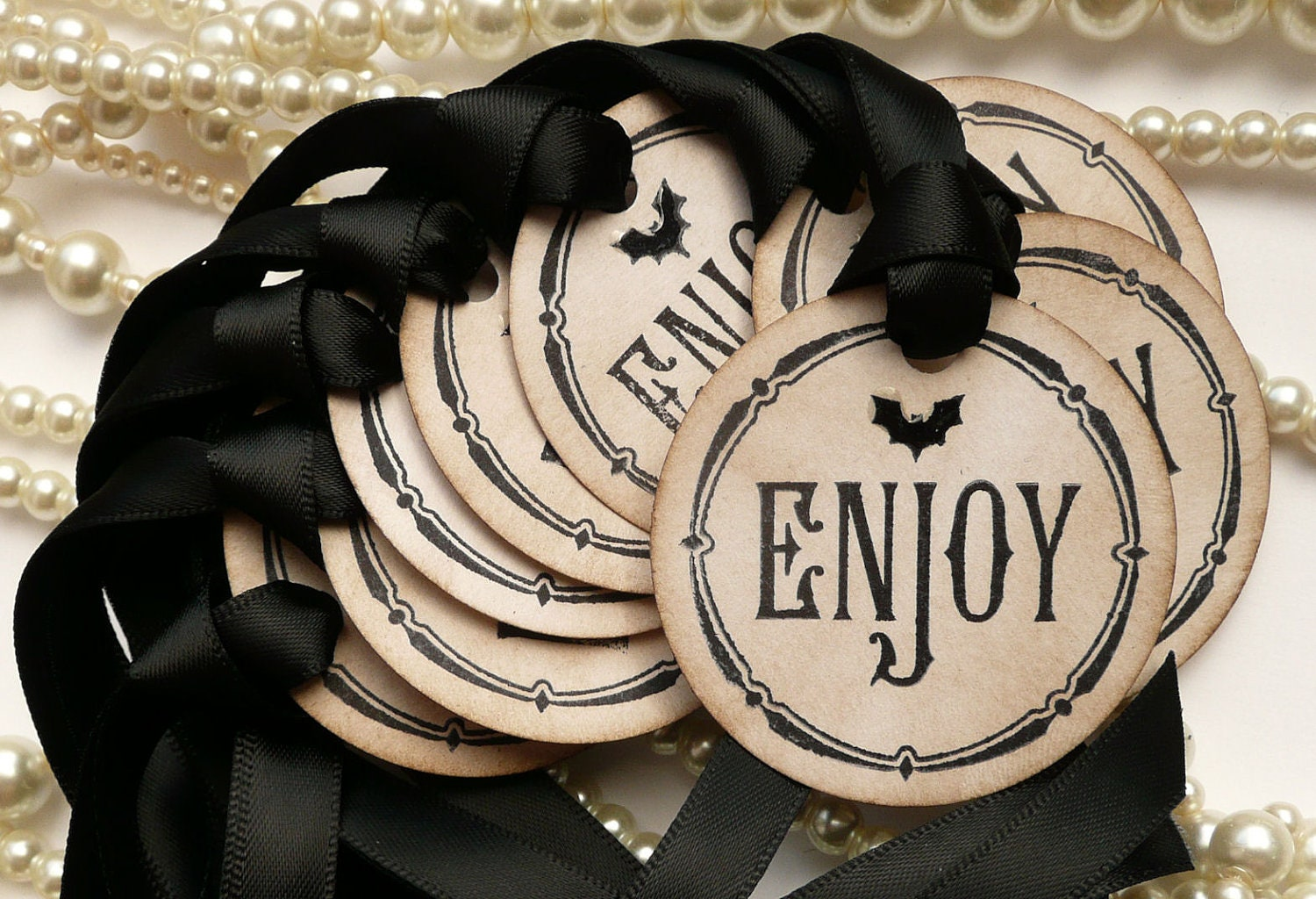 Halloween Wedding Gifts: Halloween Wedding Halloween Favors Gothic Favor Tags Treat