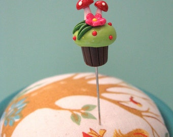 Fairy Cakes Candied Mushroom Pin Topper