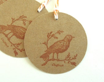 Thinking Sparrow Gift Tags - Set of 4 Gift Tags