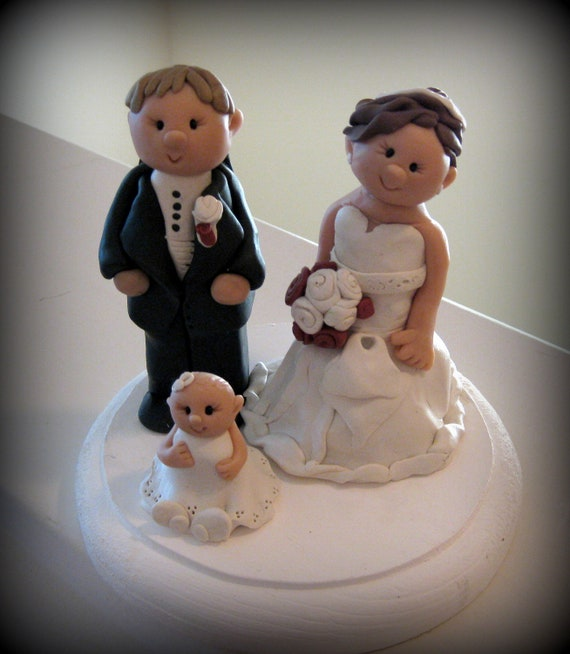 wedding cake toppers etsy items similar to custom wedding cake topper family style 26456