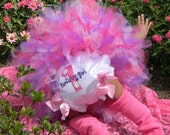 Baby Girl Bloomers - 1st Birthday Diaper Cover - Baby Birthday - Personalized Baby