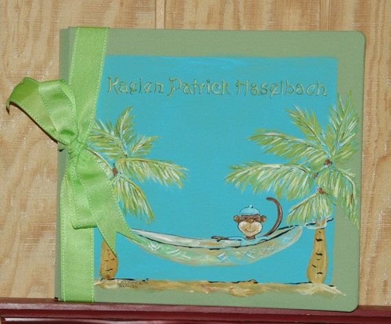 Our Little Monkey Baby Memory Book