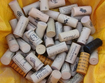Wine Corks 100 Used Synthetic