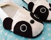 Panda Bear Mary Janes - Size 5
