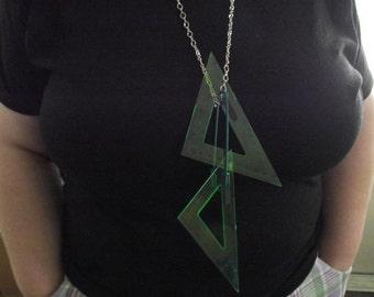 lucite necklace