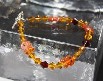 Goldfish Beaded Bracelet