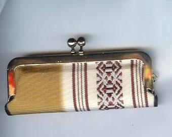 Vintage Lipstick PURSE Bag Clutch Bag Compact