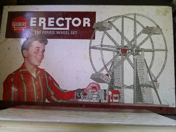 erector set ferris wheel instructions