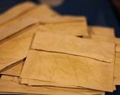 Tea Stained Envelopes and Harry Potter Invitations for Kathleen