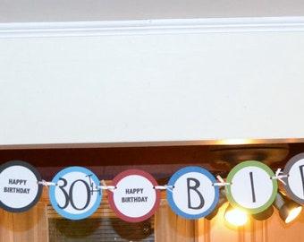 Happy 40th Birthday, Happy Birthday banner
