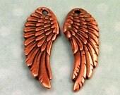 Tierracast Angel Wing, Antique Copper, 2 Pc. TC25