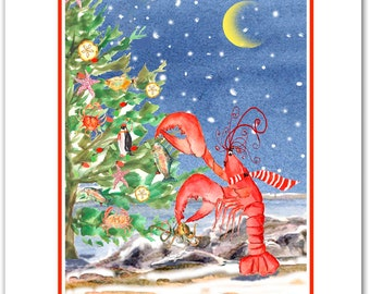 Nautical Christmas cards. funny Christmas cards.12 days of