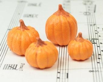 Realistic Pumpkin - Set of 4 - 101-1728