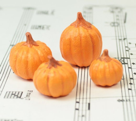 Realistic Pumpkin - Set of 4 - 101-1728