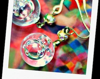 Pure Air Bubble Earrings - Orbs