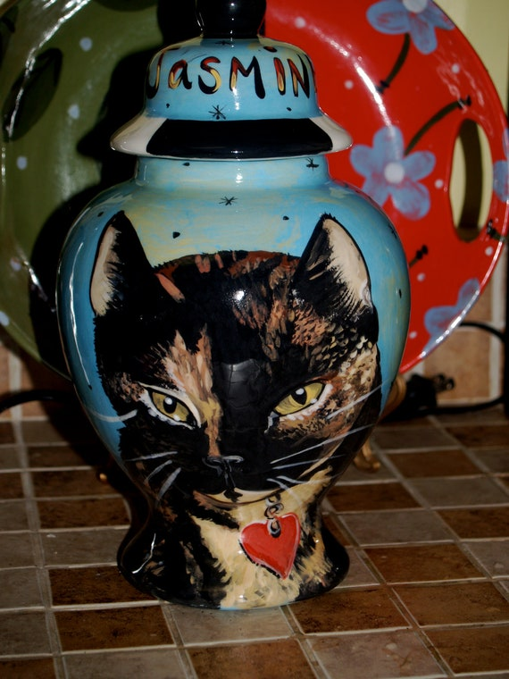 Custom large PET URN for dogs and cats SMALL made to order personallized