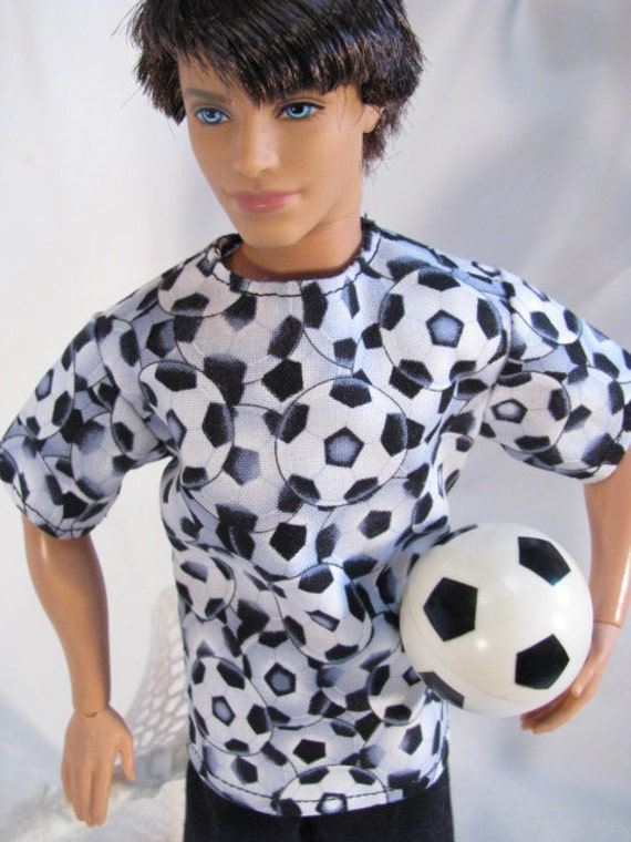 Ken Clothes Soccer Outfit