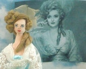 Bette Davis as Mrs. Skeffington Art Doll Collectible