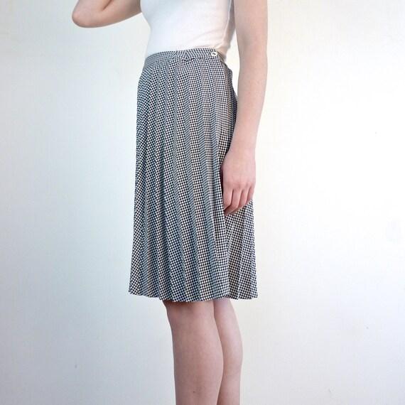 accordion pleated skirt checkered skirt by jessjamesjake