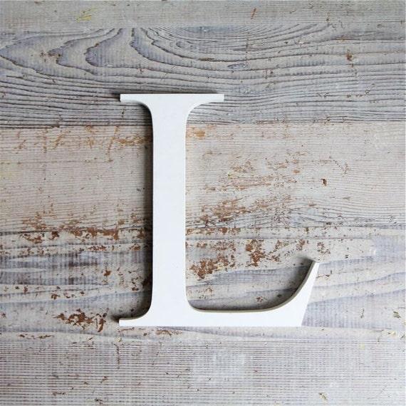 Vintage Lucite Mid Century Industrial Lucite Sign Letter - L
