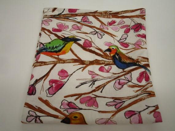 Woodsy Birds Reusable Sandwich Bag