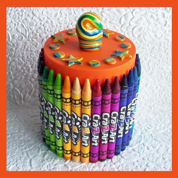 Crayon Organizer Orange
