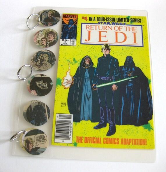 3 Ring Binder // Star Wars // Recycled Vintage By