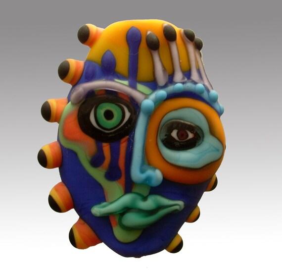 Aardvark's PLATITUDE SALLY Mask Bead