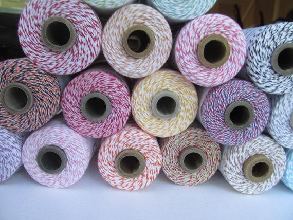 Divine Twine Full Spool Your Choice of Color 18 Yummy Colors to Choose From